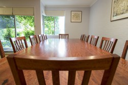Redgun Dining Suite table-length view